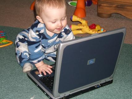 Ace On Laptop