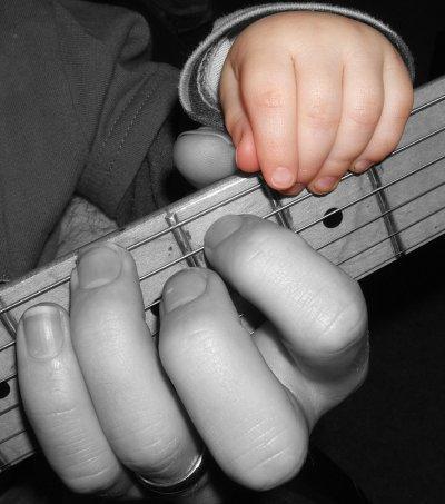 Little Finger Frettin'