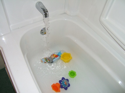 Toys In The Bath Tub