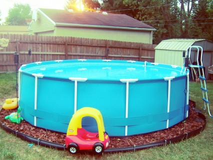 The Intex Pool Put Together