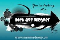 Kick Ass Blogger Award