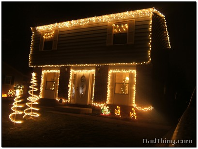 Christmas Lights on the House