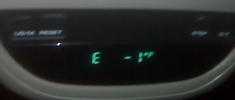 Negeative One Degrees Acording To The Thermometer In My Truck