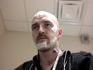 All Connected For My Sleep Study