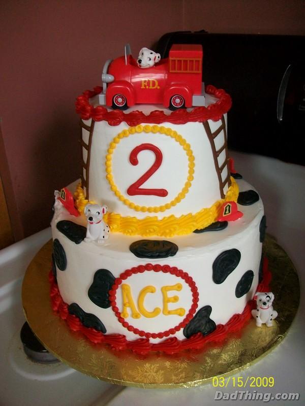 Firetruck Birthday Cake Dadthing A Dad Blog