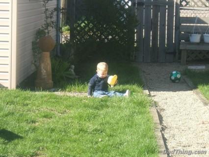 Yet, Still My Little Guy...