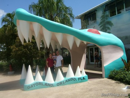 Gatorland Entrance
