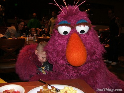 Hug From Telly Monster