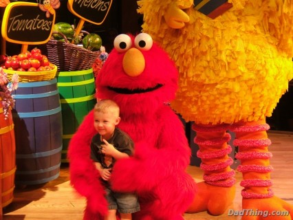 Picture Time With Elmo and Big Bird