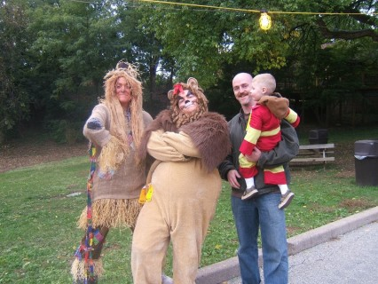 The Scarecrow and Cowardly Lion