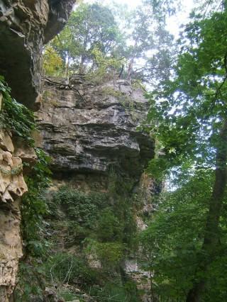 Tall Cliffs Near The Ohio River