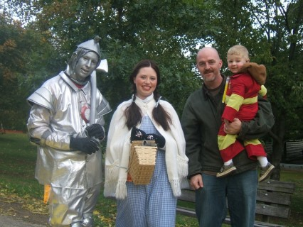 The Tin Man and Dorothy
