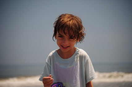 Ace's Cousin Livi At The Beach